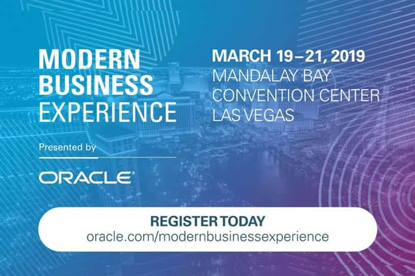 Modern Business Experience 2019