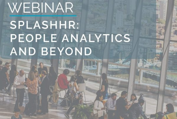 Webinar: SplashHR - People Analytics & Beyond 1