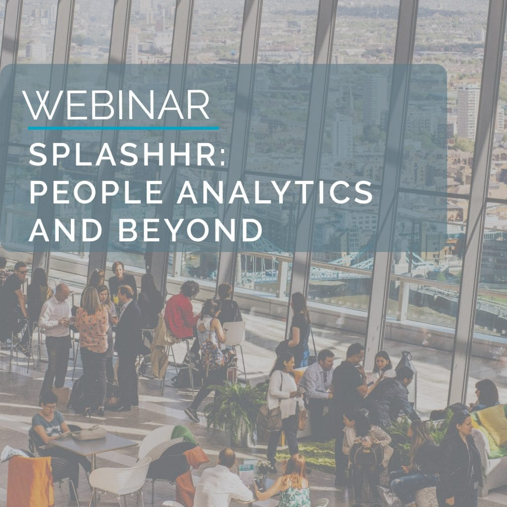Webinar: SplashHR - People Analytics & Beyond 5