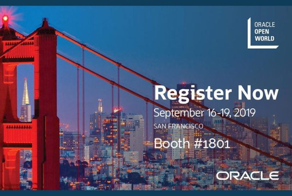 Oracle OpenWorld 2019 2