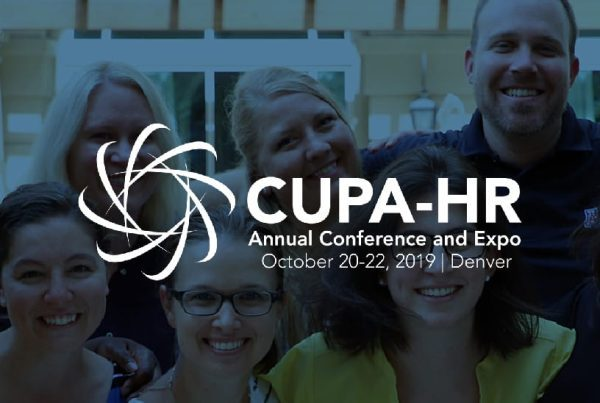 CUPA-Human Resources - 2019 2