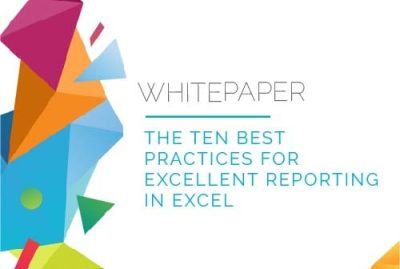 Whitepaper | 10 Best Practices for Reporting in Excel 5