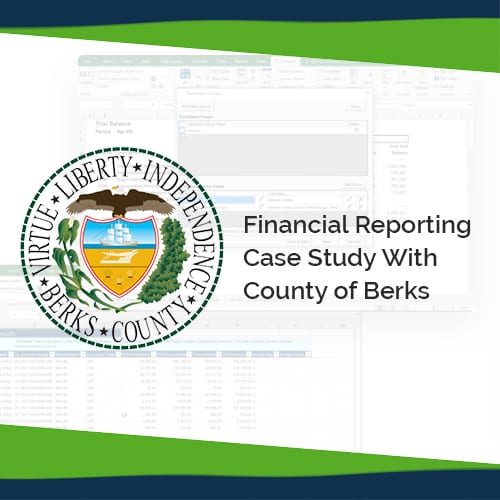 Financial Reporting to the Rescue for County of Berks 1