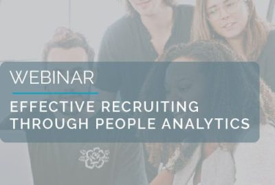 Effective recruiting through People Analytics 7