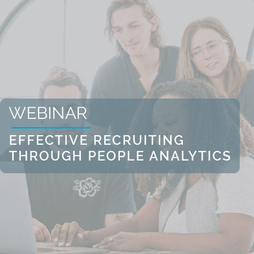 Effective recruiting through People Analytics 9