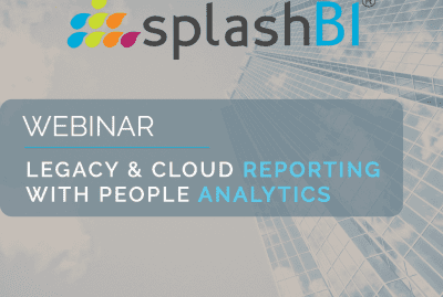 Legacy & Cloud Reporting with People Analytics 8