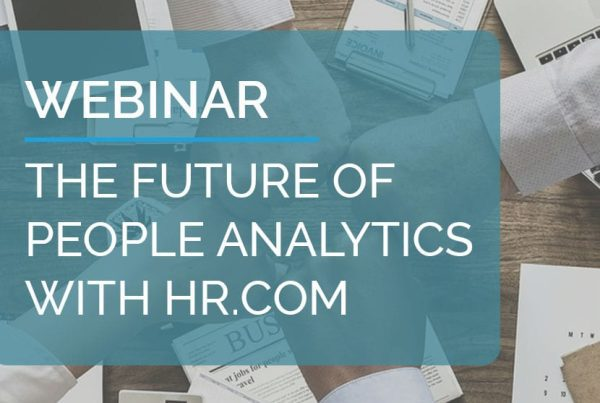 The future of People Analytics with HR.COM 15