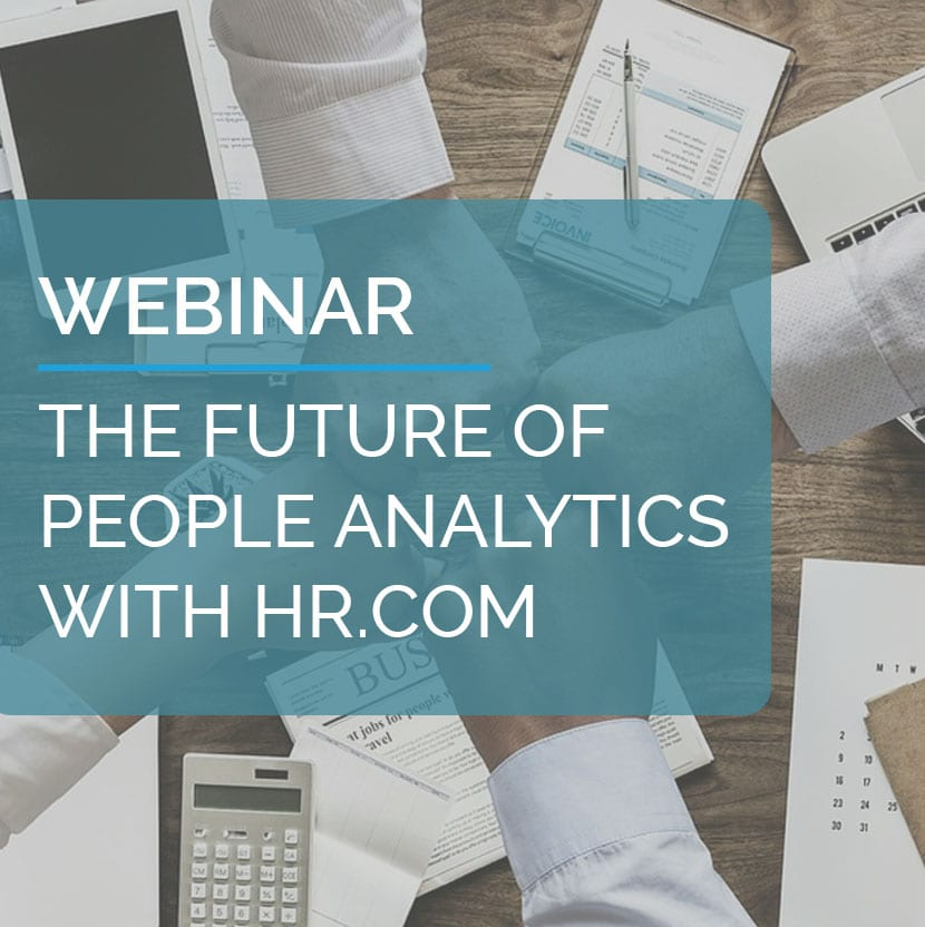 The future of People Analytics with HR.COM 2