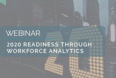 2020 Readiness Through Workforce Analytics 4
