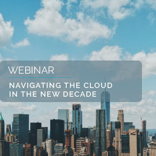 Navigating The Cloud in the New Decade 5