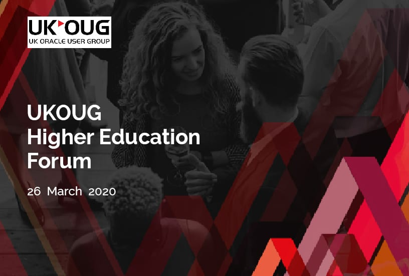 UKOUG Higher Education Forum 1