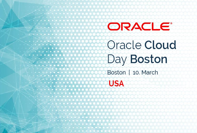 Oracle Cloud Day Boston (USA) 6