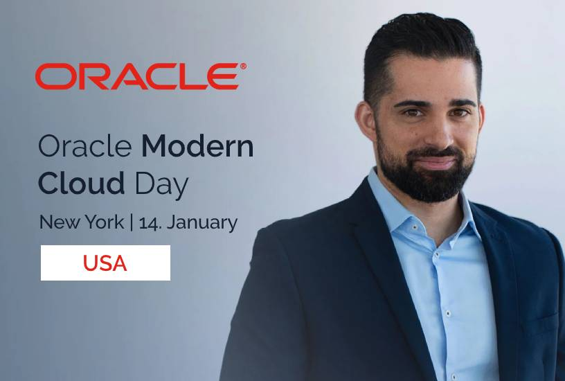 Oracle Modern Cloud Day (USA) 7