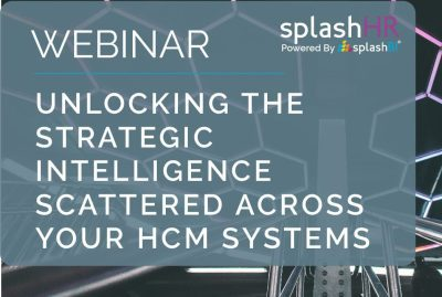 Strategic intelligence across your HCM systems 1
