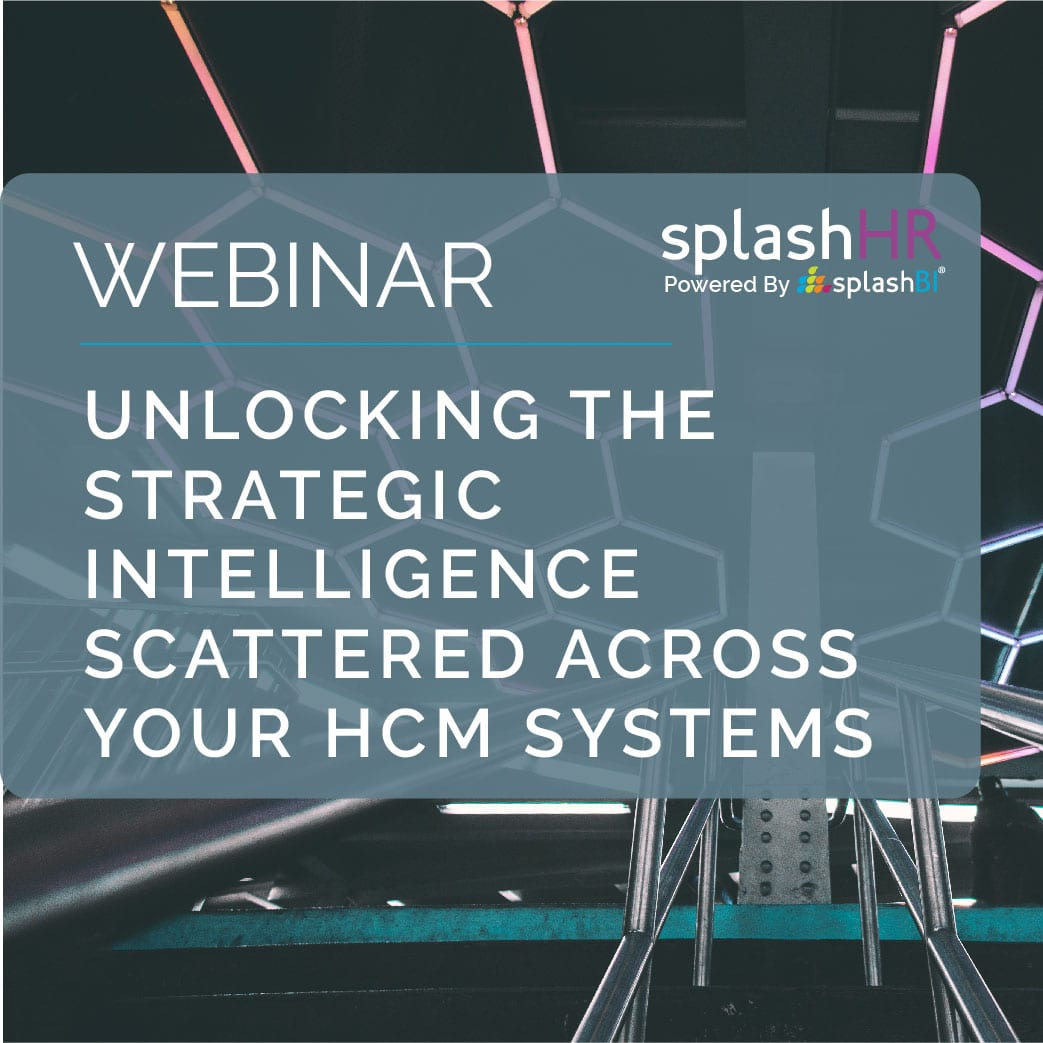 Strategic intelligence across your HCM systems 3