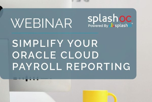 Simplify your Oracle Cloud Payroll reporting 1