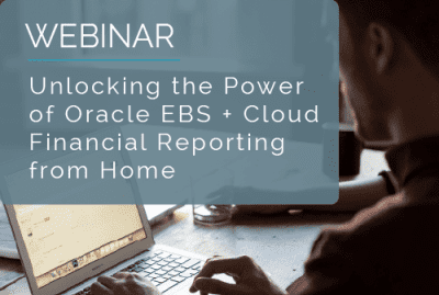 Unlocking the Power of Oracle EBS + Cloud Financial Reporting 17