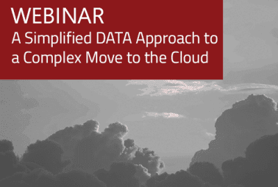 Webinar - A Simplified Data Approach to Complex Move to Cloud 13