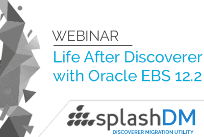 Webinar - Life Beyond Discoverer with Oracle EBS Suite R12.2! 8