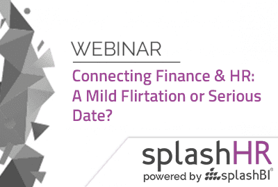 Connecting Finance & HR: A Mild Flirtation or Serious Date? 1