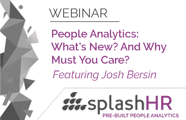 People Analytics:  What's New? And Why Must You Care? 1
